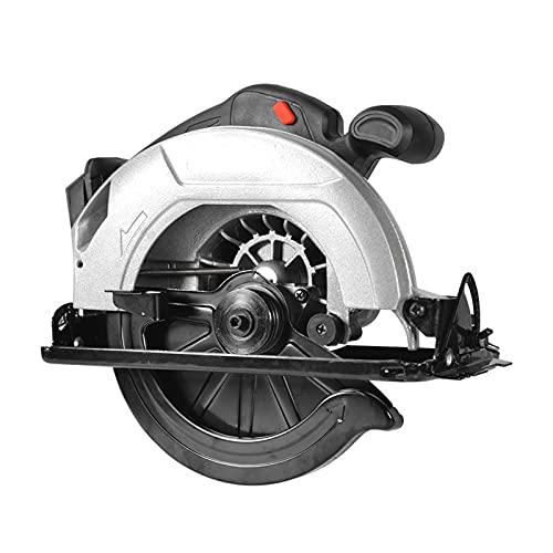 Sierra Circular eléctrica inalámbrica, Máquina de corte Multifunción Multifunción de 4500RPM 190 mm Herramientas eléctricas Pasaje de polvo para batería Makita 18V