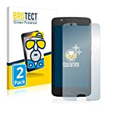 brotect Protection Ecran Anti-Reflet Compatible avec Motorola Moto E4 (2 Pièces) - Film Mat