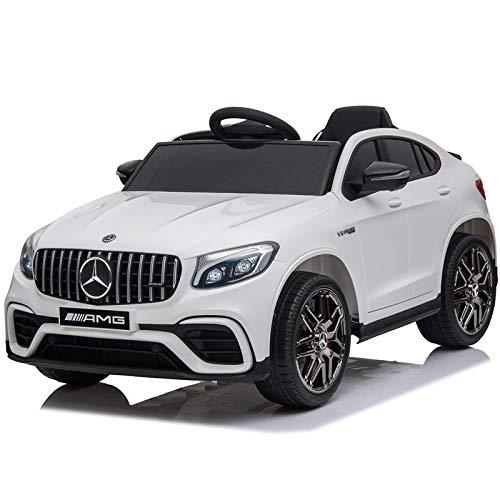 ATAA Mercedes GLC Coupé - con Licencia Mercedes -Blanco - Coche eléctrico...