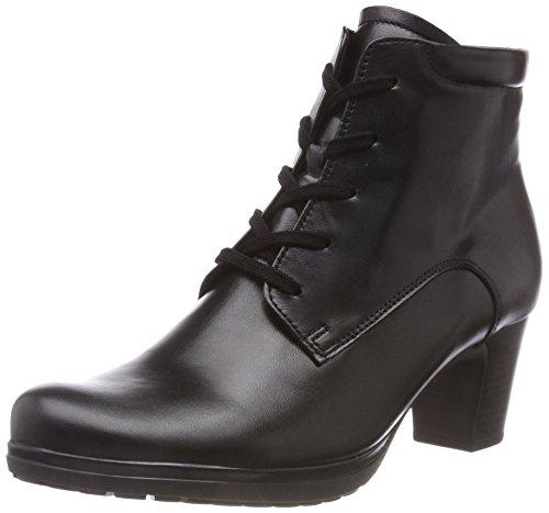 Gabor Shoes Damen Comfort Basic Stiefeletten, Schwarz (Micro) 27, 40 EU