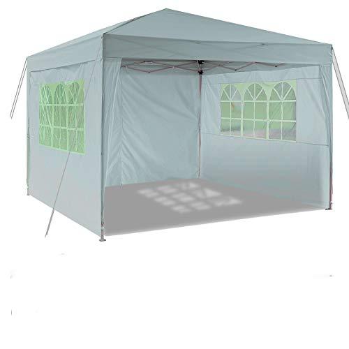 Laiozyen - Gazebo Pop-up Impermeabile 3 x 6 m, Tenda Impermeabile con Pannelli Laterali e Borsa per Esterni, Matrimoni, Feste in Giardino