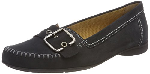 Gabor Shoes Damen Comfort Sport Geschlossene Ballerinas, Blau (Nightblue), 37 EU
