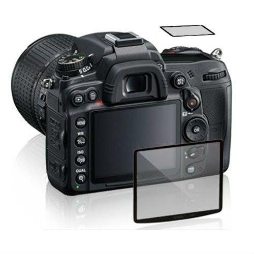 Maxsimafoto® Protección Profesional de Cristal LCD para Nikon D500 Alta Transparencia, Anti-raspadura, Anti Bump.