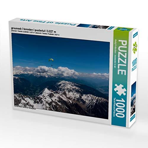 CALVENDO Puzzle graunock I terenten I pustertal I 3.027 m 1000 Teile Lege-Größe 64 x 48 cm Foto-Puzzle Bild von Moments in air