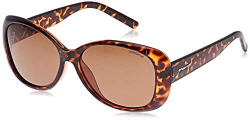 Polaroid PLD 4014/S HE V08 Gafas de sol, Marrón (Havana/Copper Pz), 57 para Mujer