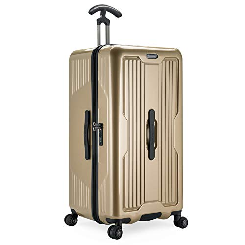 Traveler's Choice Ultimax 30' Hardside Spinner Trunk Luggage, Champagne