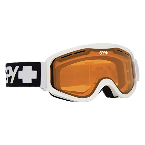Spy Optic Cadet Snow Goggles, One Size (Matte White Frame/Persimmon Lens)