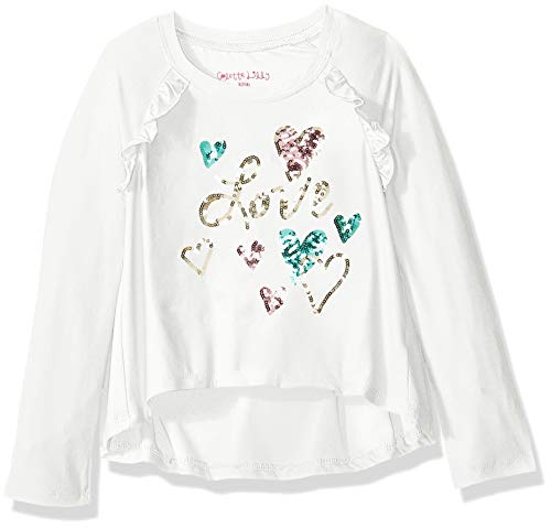 Camiseta feminina Colette Lilly de manga comprida e lantejoulas, Vanilla Sky Love, 4