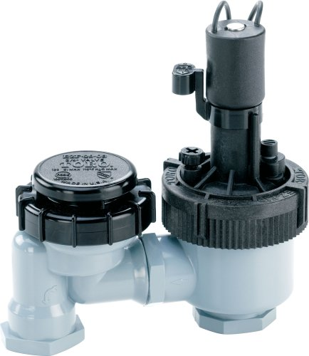 Toro 53763 3/4-Inch Anti-Siphon Jar Top Underground Sprinkler System Valve with Flow Control, 3/4' Jar-Top Valve w/Flow Control
