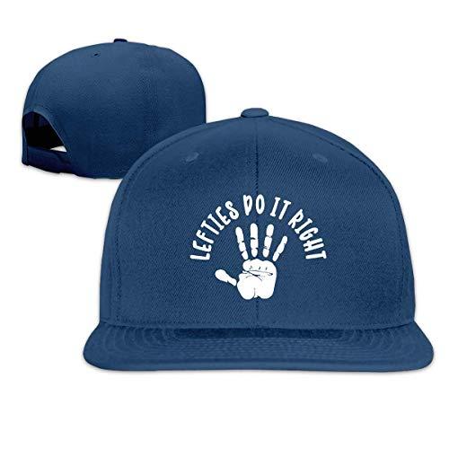 Eileen Powell Lefties Do It Right Sombreros unisex para adultos Gorras de béisbol clásicas Sombrero deportivo Gorra con visera