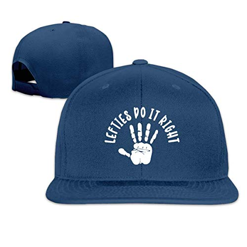Eileen Powell Lefties Do It Right Sombreros unisex para adultos Gorras de béisbol clásicas Sombrero deportivo Gorra con visera