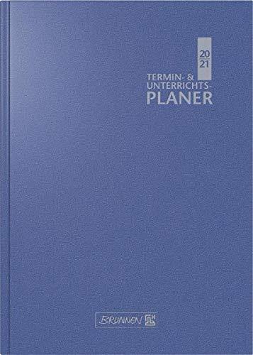 BRUNNEN 1075960301 Wochenkalender/Lehrerkalender 2020/2021, Termin- & Unterrichtsplaner, Lehrer-Sortiment