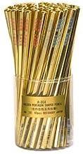 金の合格五角鉛筆 60本セット (3色アソート)