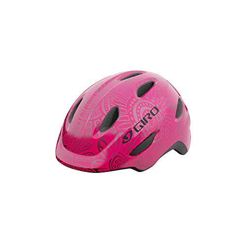 Giro Scamp MIPS Youth Recreational Bike Cycling Helmet - Extra Small (45-49 cm), Bright Pink/Pearl (2021)