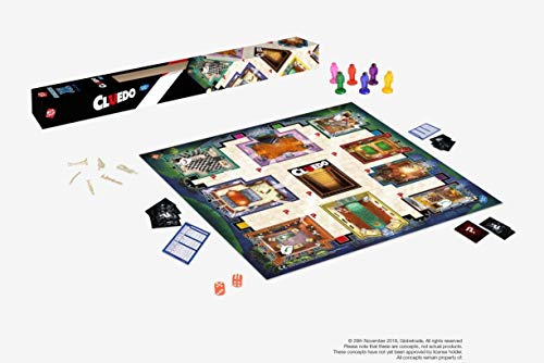 Hasbro Gaming CLUEDO Junior XL Spielmatte 61x61cm Deutsche Version Kinderspiel Brettspiel SpielJ