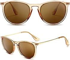 SUNGAIT Vintage Round Sunglasses for Women Men Classic Retro Designer Style