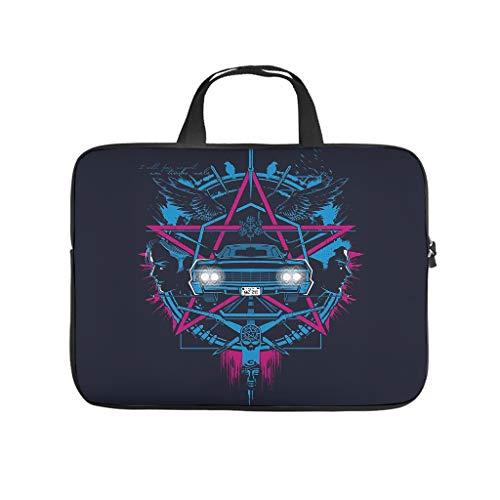 Laptop Tote Bag Neoprene Laptop Case Laptop for Work/Business/School/College/Travel White 13 Zoll