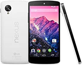 LG Google Nexus 5 D821 Factory Unlocked Phone, 32GB, White International Version No Warranty