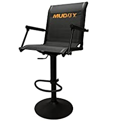 """Flex-Tek Zero-Gravity seating for added comfort Swivels 360 degrees Seat height adjusts 17"""" to 24"""" Solid steel frame"""