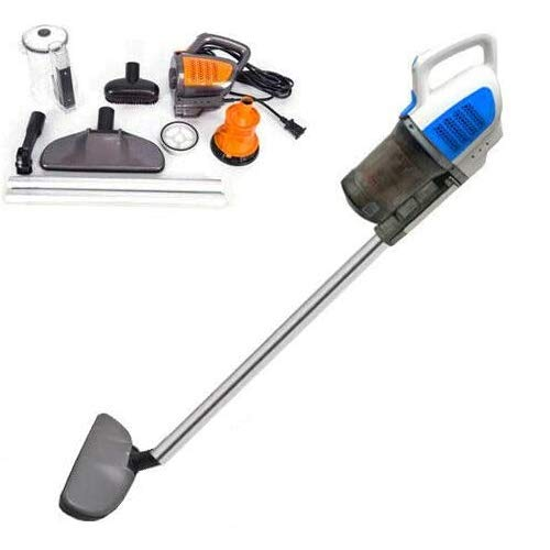 BLUE CORDED STICK VACUUM CLEANER 600W 2 IN 1 UPRIGHT HANDHELD BAGLESS VAC CYCLONE NEW