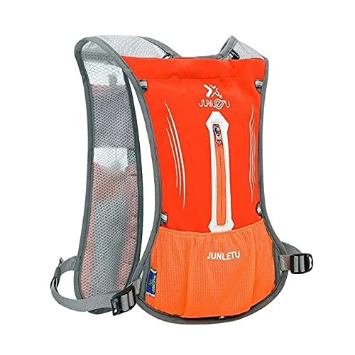 D Nylon 5 Color Deportes Mochila Transpirable Que va de excursión en Bicicleta, Correr Chaleco con 2 l de Agua al Aire Libre Paquete Bolsas Fitness Equipment