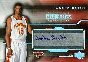 Autograph Warehouse 84703 Donta Smith Autographed Basketball Card Atlanta Hawks 2004 Upper Deck Diamond Rookie