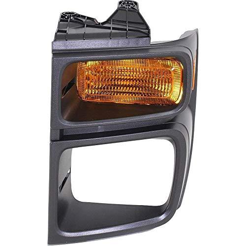 New Front Left Driver Side Parking Light Lens For 2008-2016 Ford Econoline Van,...