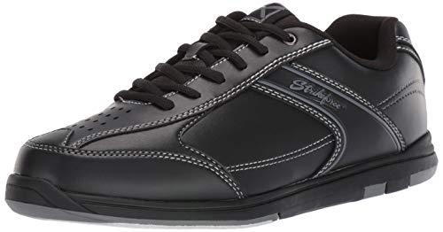 KR Strikeforce M-030-095 Flyer Bowling Shoes, Black, Size 9.5