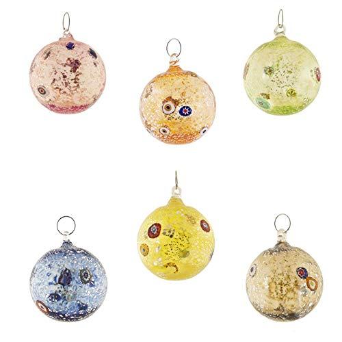 Set de 3 SIKORA BS155 D/écorations de no/ël en verre ornement /à accrocher Ange