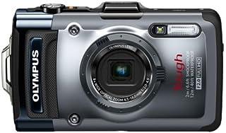 OLYMPUS デジタルカメラ TG-1 シルバー 12m防水 2m耐落下衝撃 -10℃耐低温 耐荷重100kg 1200万画素 F2.0ハイスピードレンズ 裏面照射型CMOS 光学4倍ズーム ハイビジョンムービー 3.0型有機EL 広角25m...