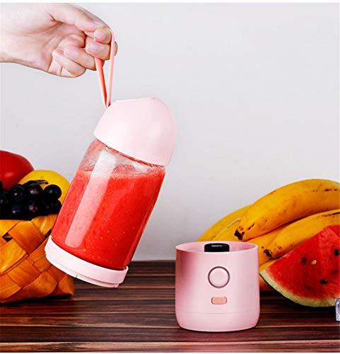 Batidora portátil, Smoothie Blender USB Juicer Cup, 3D, batidora de frutas,bandeja para hielo,licuadora perfecta, adecuada para uso personal
