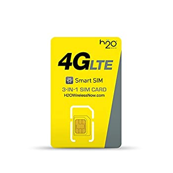h2o Smart SIM Starter Kit 3-in-1 GSM SIM Card
