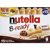 Nutella Biscuits fourrés à la pâte à tartiner aux noisettes et cacao - Les 15 pièces, 330g