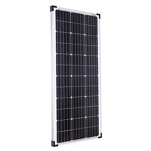 100 Watt Solarmodul Monokristallin 12V - Solarpanel Solaranlage Solarzelle/Offgridtec
