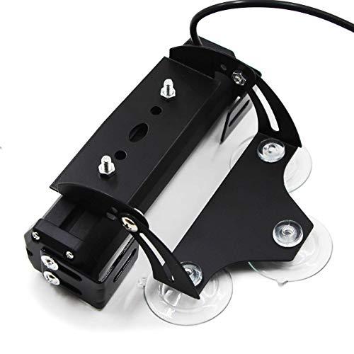 FOXCID 2 Pcs Light Holder Adjustable Bracket Replacement for 2 X 6 and 4 X 6 LED Traffic Advisor Emergency Warning Vehicle Strobe Lights for Interior Roof/Dash/Windshield/Grille/Deck…