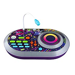 🎁Use the free spinning turntable to scratch while you mix your jams also using Volume and Tempo sliders allow you to raise and lower the sound and speed. 🎁Use the microphone to sing along or record your own voice to customize your music mixes 🎁Intera...