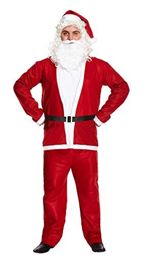 Thingimijigs Noël Adultes Père Noël Costume de déguisement