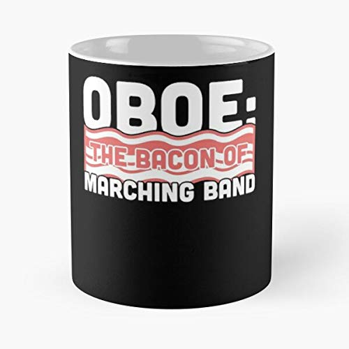 Chair Oboe Camp First Woodwinds Marching Clever Funny Band I FSGdesign- Best Mug holds hand 11 oz made from White marble ceramic