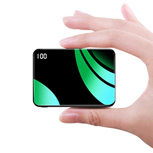 Bscame Power Bank 10000mAh Mini Portable Charger, Smallest and Lightest Extenal Battery, Ultra-Compact Battery Pack, Fast Charging Phone Charger for iPhone, Samsung and More.