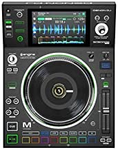 "Denon DJ SC5000M | Professional DJ Media Player with Motorised Platter, 7"" Multi-Touch Display, Multifunction Trigger Pads, Performance Customisation Options & Engine Prime Music Management Software"
