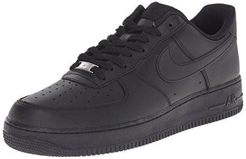 Nike Air Force 1 '06 (GS Boys), Baskets Homme, Noir, 38 EU