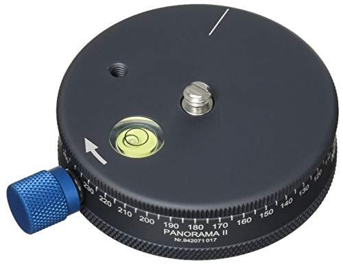 Novoflex Panorama II Universal Pelota Gris Cabeza de tripode - Cabeza para trípode (140 g, Gris)