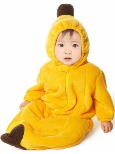 Gaorui sac de couchage sommeil pour bébé polaire molleton en forme de Banana vêtements de nuit unisexe Toddler