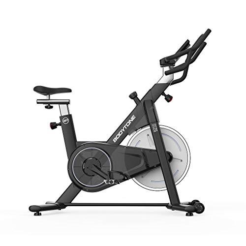 Bodytone BT Bici de Spinning magética | Volante de inercia 18 kg ✅
