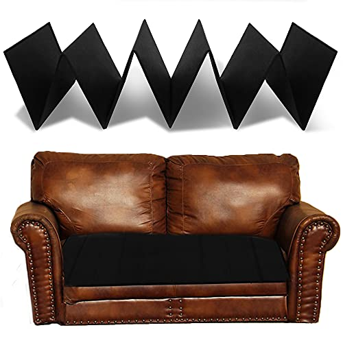 """HomeProtect Couch Cushion Support for Sagging Seat, Furniture Cushion Support Insert for Loveseat 17""""x44"""" New Upgraded PP Board, Black"""