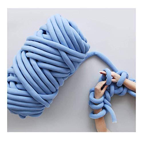 Neverending Riese Wolle Garn Für Armstricken/100% Wolle Dick |50mm| Fingerstricken Decken Teppiche Schals Nicht – Pantoletten Filzen, Vorspinnen, Spinnen (4 Farben optional, 501g)