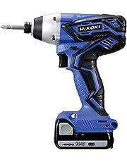 HiKOKI(ハイコーキ) 14.4V コードレスインパクト ドライバ ブルー 1.3Ah バッテリ2本・充電器・ケース付FWH14DGL(2LEGK)