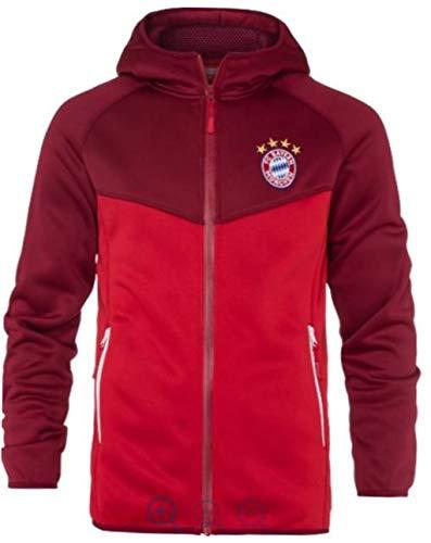 FC Bayern München Funktionsjacke FCB, Jacke Funktionsfleecejacke Fleecejacke (3XL)