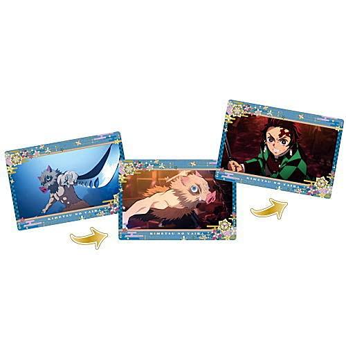 劇場版「鬼滅の刃」無限列車編 名場面回顧カードチョコスナック3 [8.嘴平伊之助](単品)※カードのみです。お菓子は付属しません。