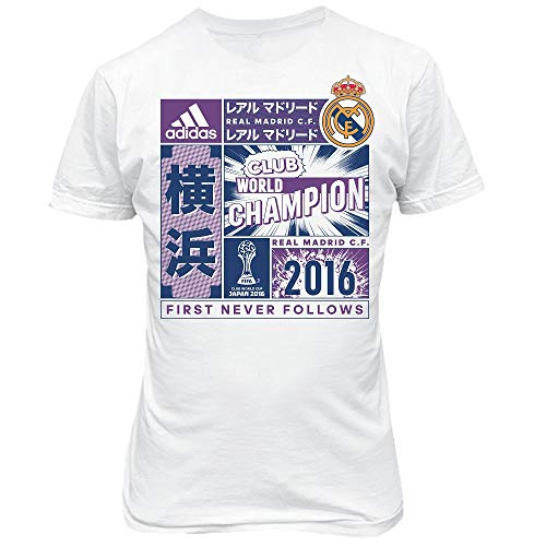 adidas Kinder Real Madrid CF Champion Trikot Weltmeisterschaft 2016